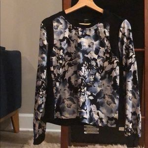 Forever 21 Long sleeve print top (S)